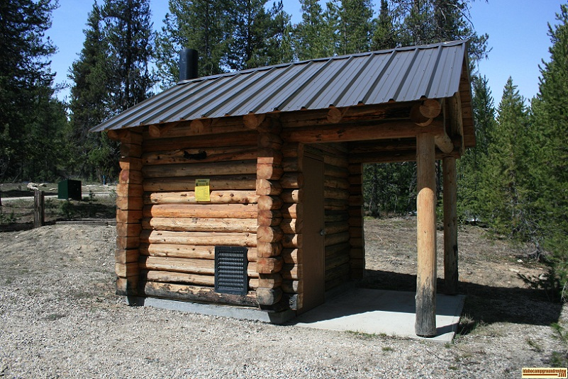 whoop-um-up log cabin outhouse