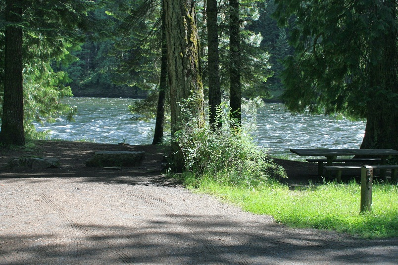 Wild Goose Campground Campsites | Images And Descriptions