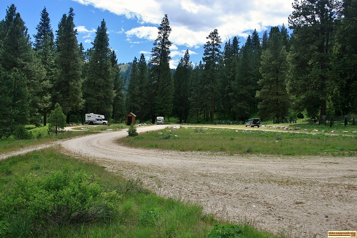 Willow Creek Transfer Camp view