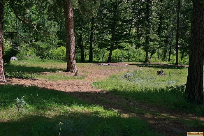 Willow Creek Transfer Camp primitive and free camping