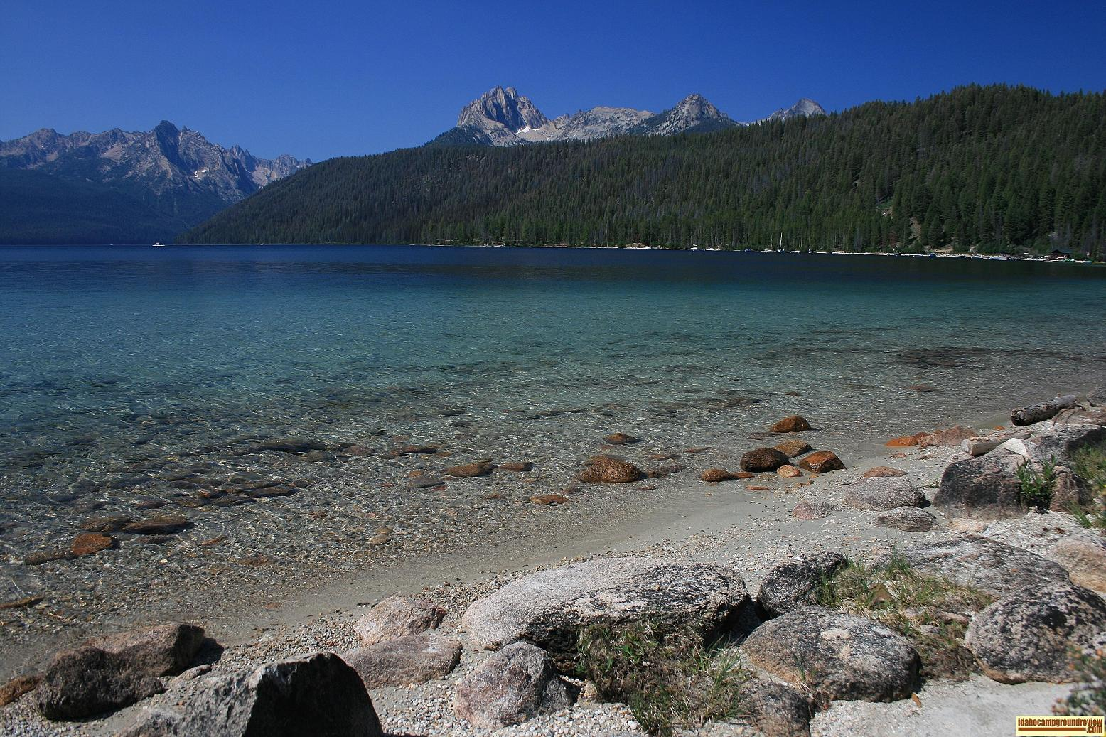 picture of redfish lake
