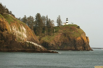 The Light house at Cape Disappointment, Washington