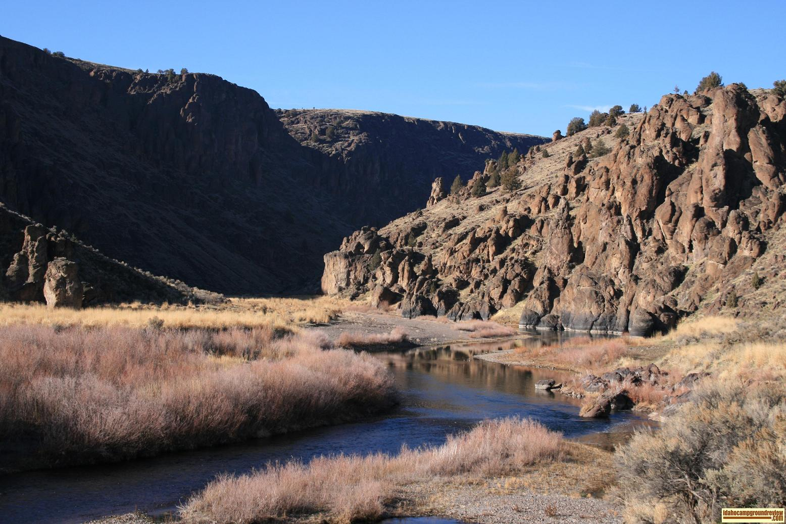 Owyhee River in South East Oregon