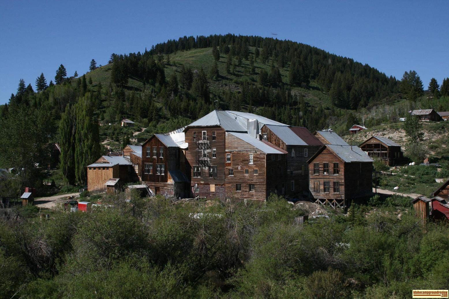 The hotel at Silver City, Idaho from the back side
