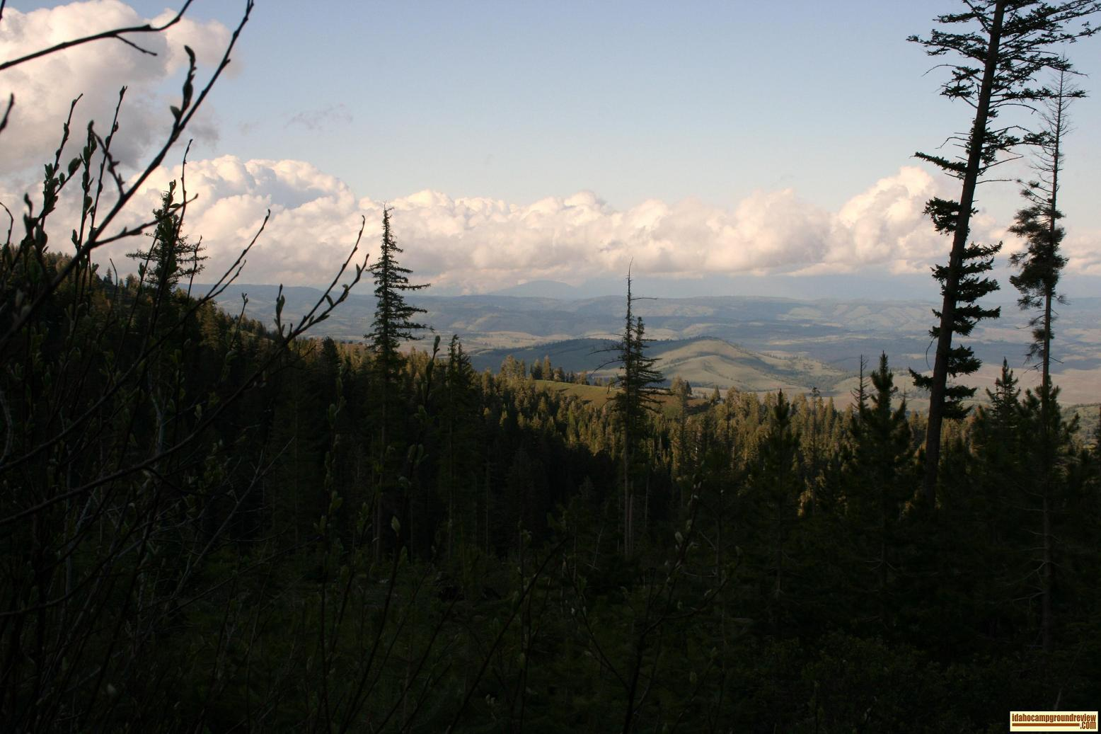 view of the hills north of council, idaho